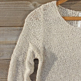 Lake Chelan Lace Sweater in Haze: Alternate View #2