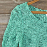 Lake Chelan Lace Sweater in Mist: Alternate View #2