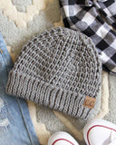 The Lake Easton Beanie in Gray: Alternate View #1