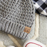 The Lake Easton Beanie in Gray: Alternate View #2