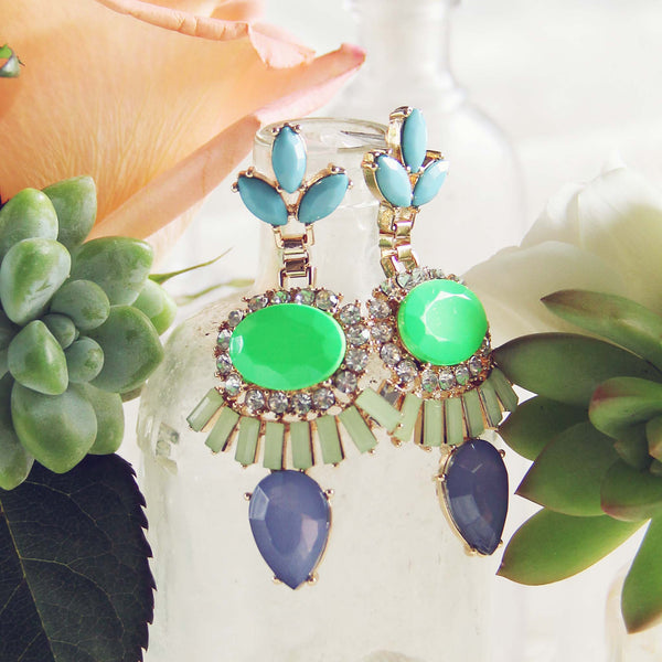 Desert Mint Earrings: Featured Product Image