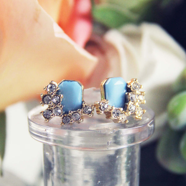 Lake & Sky Stud Earrings: Featured Product Image