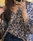 Lark Floral Top: Alternate View #2
