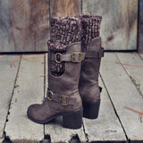 Laurel & Arrow Sweater Boots: Alternate View #1