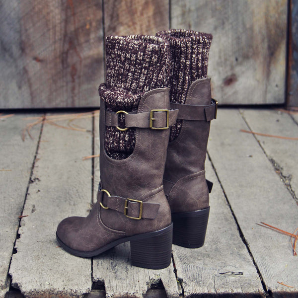 Laurel & Arrow Sweater Boots: Featured Product Image
