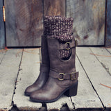 Laurel & Arrow Sweater Boots: Alternate View #3