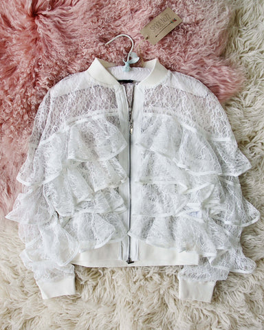 Layered Lace Jacket