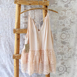 Layered Lace Tank in Dusty Pink: Alternate View #3