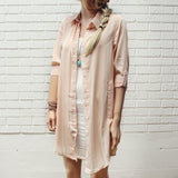 Lennon & Rose Shirt Dress: Alternate View #4