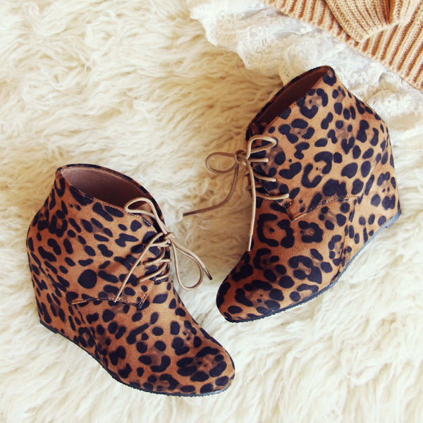 Wild Shadows Booties: Featured Product Image
