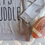 Let's Huddle Cozy Sweatshirt: Alternate View #3