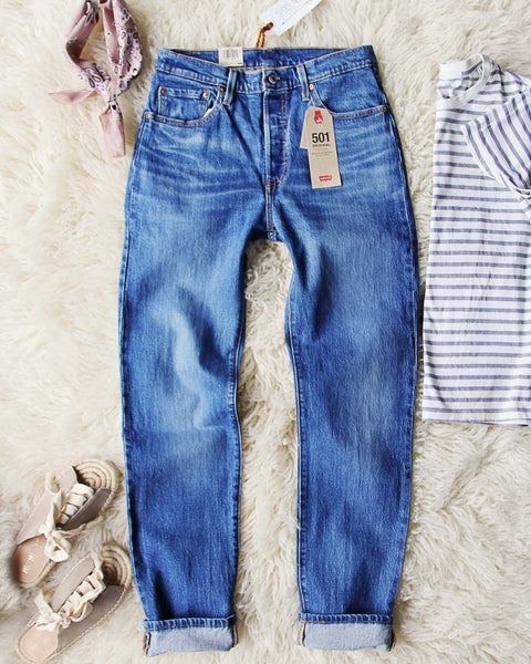 Levi's 501 Vintage Fit Jeans: Featured Product Image