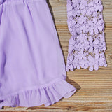 Lilac Valley Romper: Alternate View #3