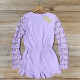 Lilac Valley Romper: Alternate View #4
