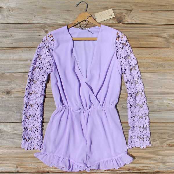 Lilac Valley Romper: Featured Product Image