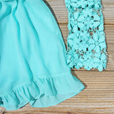 Lilac Valley Romper in Mint: Alternate View #3
