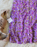 Lilac Fields Dress: Alternate View #2