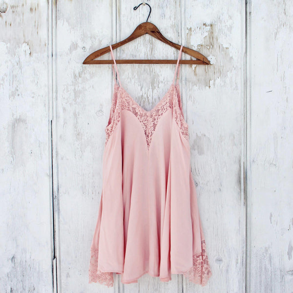 The Linden Layering Tunic in Rose: Featured Product Image