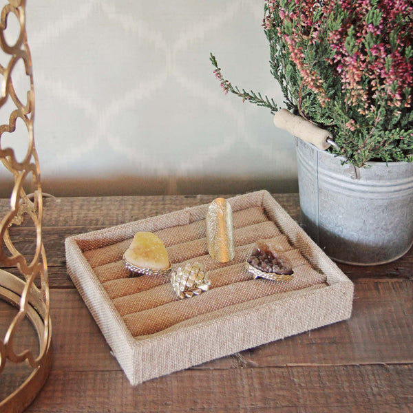 Linen Ring Tray: Featured Product Image