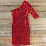 Little Sparkler Sequin Dress: Alternate View #1