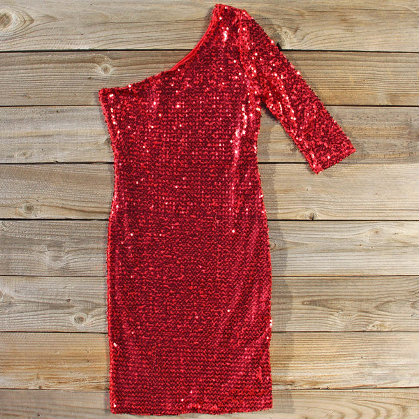 Little Sparkler Sequin Dress: Featured Product Image