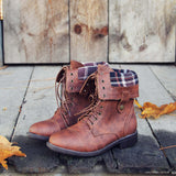 The Lodge Boots in Cognac: Alternate View #1
