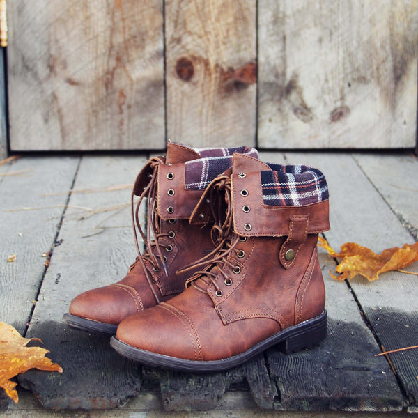The Lodge Boots in Cognac: Featured Product Image