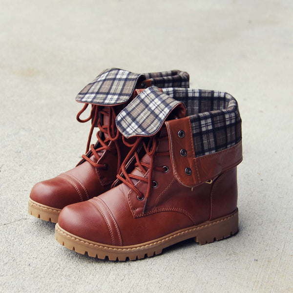 The Lodge Boots in Tan: Featured Product Image