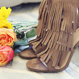 Logan Fringe Heels: Alternate View #3