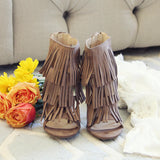 Logan Fringe Heels: Alternate View #2