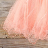 Spool Couture Lola Dress in Peach: Alternate View #3