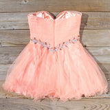 Spool Couture Lola Dress in Peach: Alternate View #4