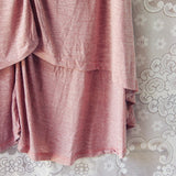 Lola T-Shirt Tunic Dress in Rose: Alternate View #3