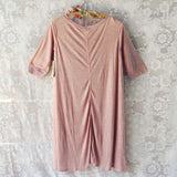 Lola T-Shirt Tunic Dress in Rose: Alternate View #4