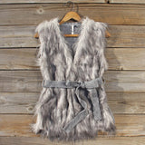 Longhouse Faux Fur Vest: Alternate View #2
