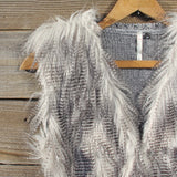 Longhouse Faux Fur Vest: Alternate View #3