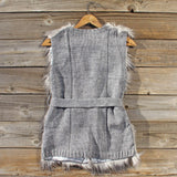 Longhouse Faux Fur Vest: Alternate View #4