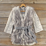 Longhouse Faux Fur Vest: Alternate View #1