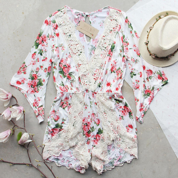 Lost Garden Romper: Featured Product Image