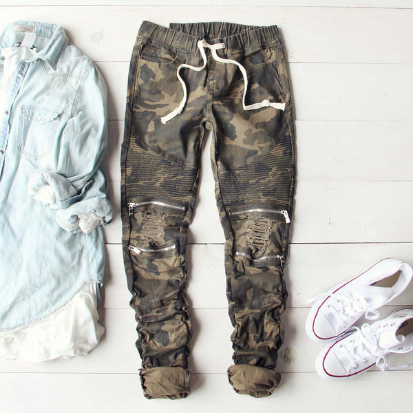 Lost Hills Camo Pants: Featured Product Image