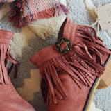 Lost Valley Fringe Boots: Alternate View #2