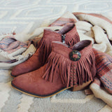 Lost Valley Fringe Boots: Alternate View #3