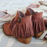 Lost Valley Fringe Boots: Alternate View #4