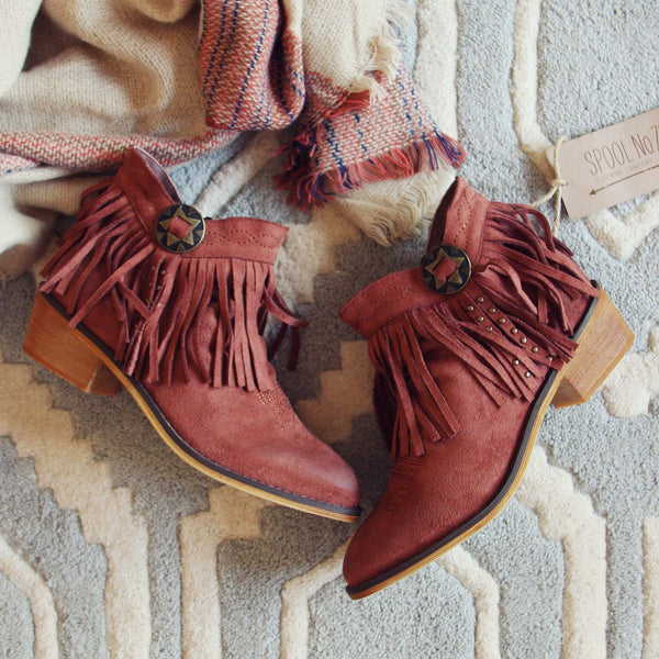 Lost Valley Fringe Boots: Featured Product Image