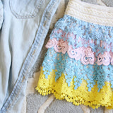 Love Me Not Lace Shorts: Alternate View #2