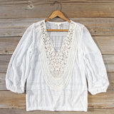Lovebird Lace Blouse: Alternate View #1