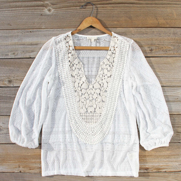 Lovebird Lace Blouse: Featured Product Image