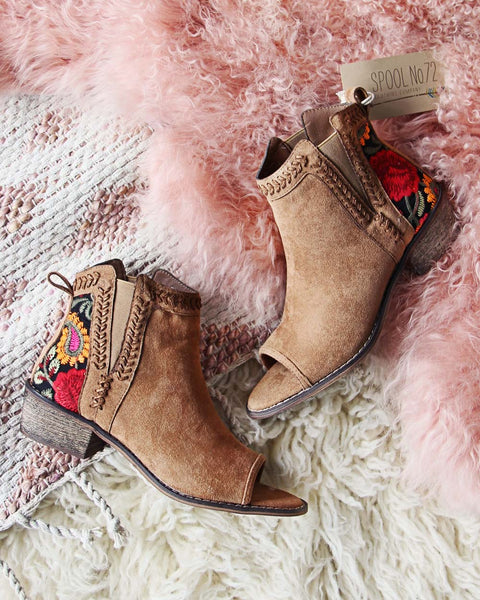 Lovell Peep Toe Booties: Featured Product Image