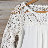 Lovely Lace Top: Alternate View #2