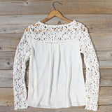 Lovely Lace Top: Alternate View #4